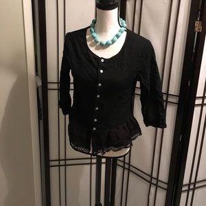 Tops - Pretty black top